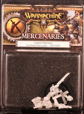 Warmachine: Mercenaries: Captain Damiano Warcaster
