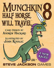 Munchkin 8: Half-Horse, Will Travel Card Game Expansion