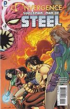 Convergence Superman Man Of Steel #2 (of 2) VF/NM