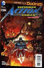 Action Comics #34 (Doomed) VF/NM