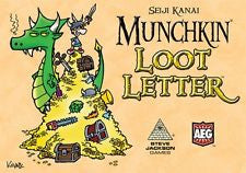 Munchkin Loot Letter Card Game