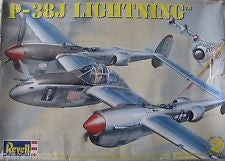 P-38J Lightning Model Kit 1:48 Scale