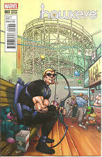All New Hawkeye #3 Ferry NYC Var VF/NM
