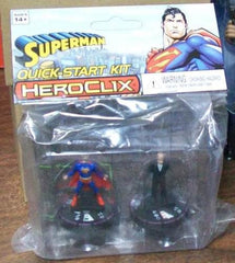 DC Heroclix Superman Lex Luther Quick Start Kit 2pk