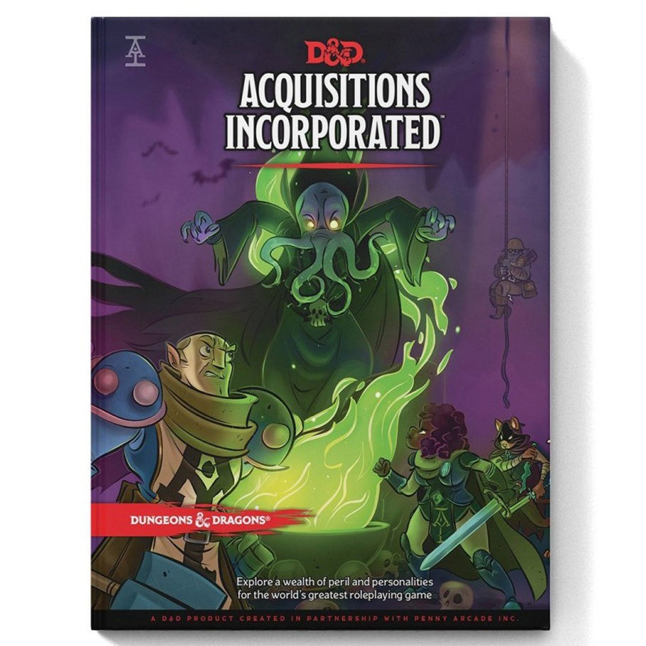 D&D 5E: Acquisitions Incorporated RPG