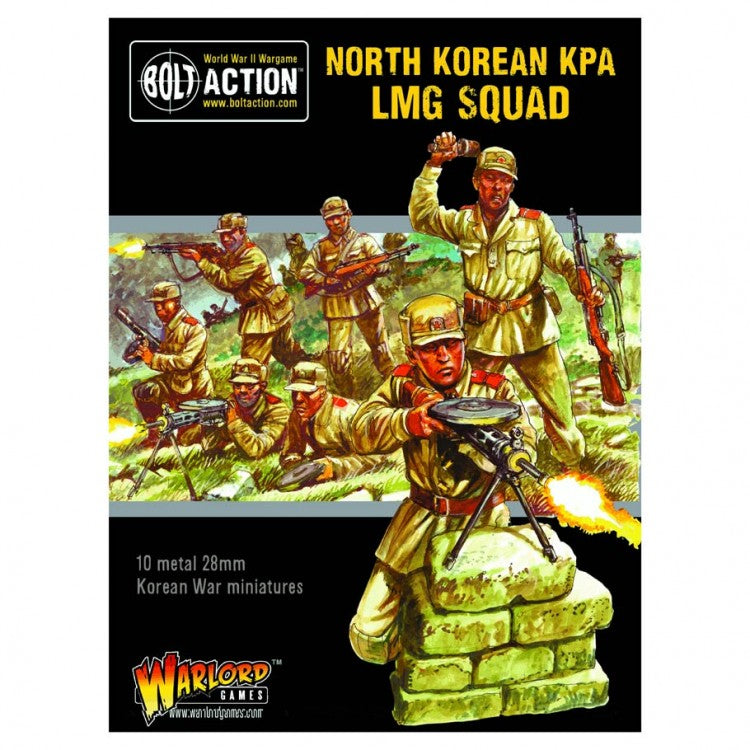 Korean War: North Korean KPA LMG squad