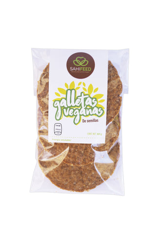 GALLETAS VEGANAS DE SEMILLAS