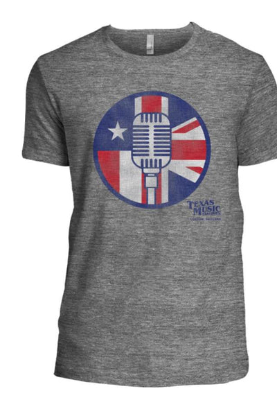 Texas Music Takeover Official Tee - Gray