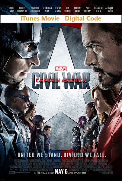 Captain America: Civil War (HD) - iTunes Movie