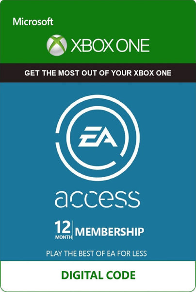 EA Access 12 Month Membership (Xbox One)