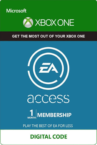 EA Access 1 Month Membership (Xbox One)