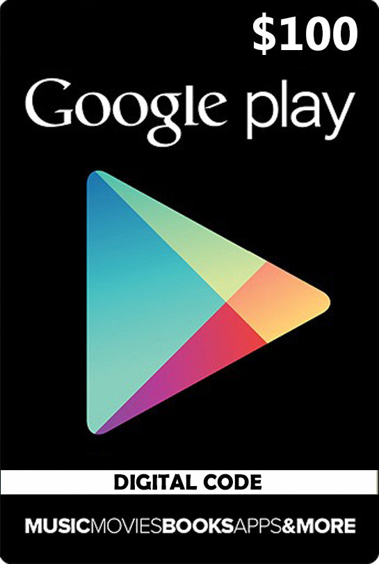 Google Play Card $100