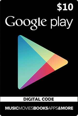 Google Play Card $10