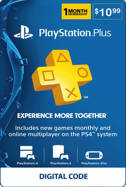 1 Month PSN Plus - PlayStation Plus Membership