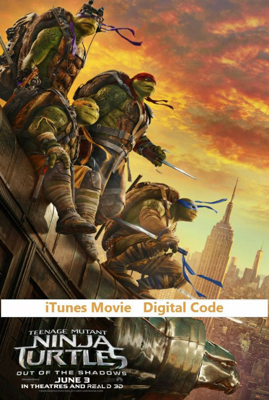 TMNT: Out of the Shadows (HD) - iTunes Movie