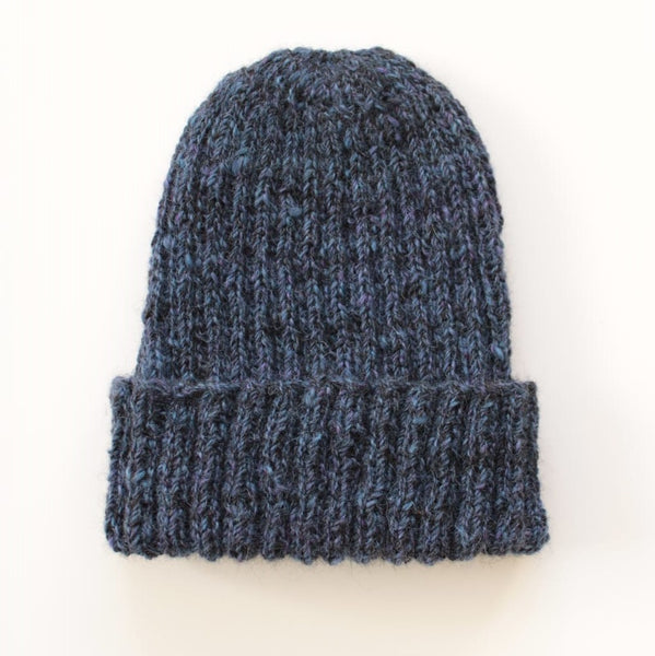British Alpaca Hat - Midnight Blue