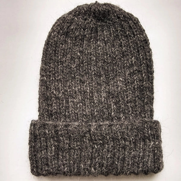 British Alpaca Hat - dark grey