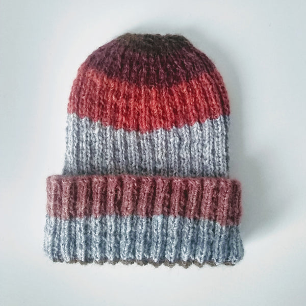 British Alpaca Hat - Stripes