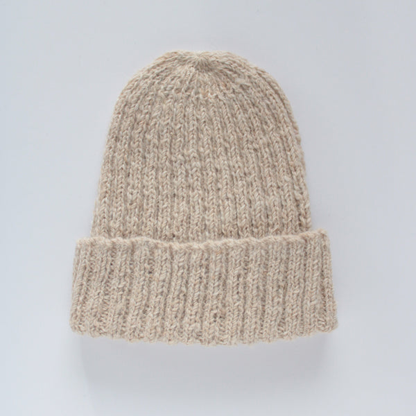 Back in stock shortly - British Alpaca Hat - Oatmeal