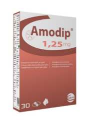 Amodip Chewable Tablets For Cats pack of 30 (Prescription Required)