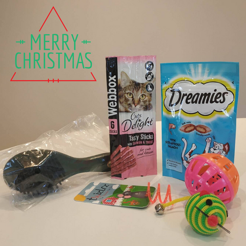 Festive hamper - cats