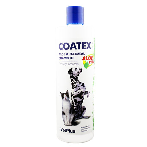 Coatex Aloe and Oatmeal Shampoo 500ml