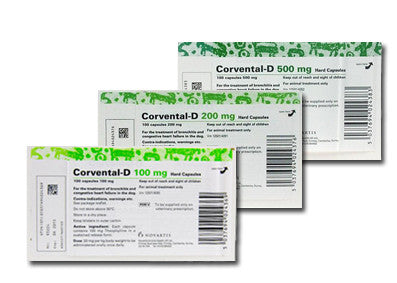 Corvental D Capsules (Prescription Required)