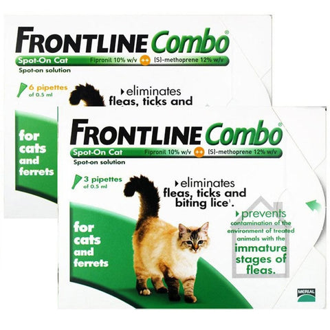 Frontline Combo for Cats (Prescription Required)