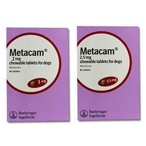 Metacam Chewable Tablets for Dogs (Prescription Medicine)