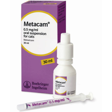 Metacam Oral Suspension for Cats (Prescription Required)