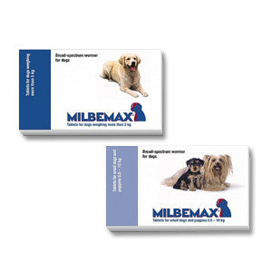 Milbemax Wormer for Dogs (Prescription Required)
