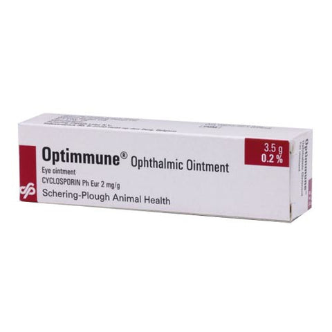Optimmune Eye Ointment 3.5g (Prescription Required)