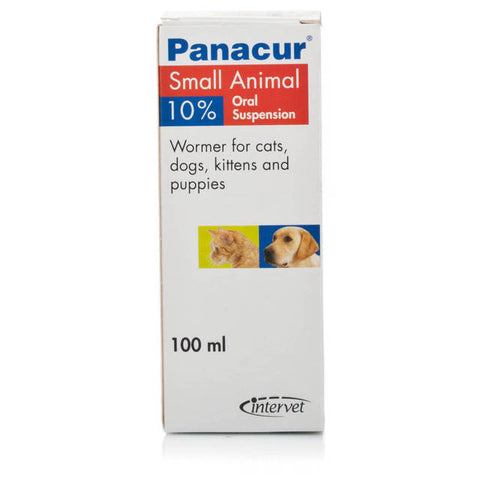 Panacur Suspension 10% Cat/Dog 100ml