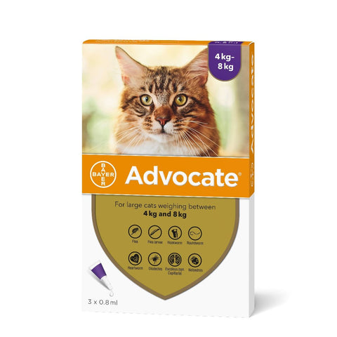 Advocate for Cats (Prescription required)