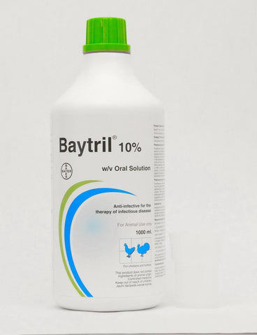 Baytril 10% Oral Solution (Prescription Required)