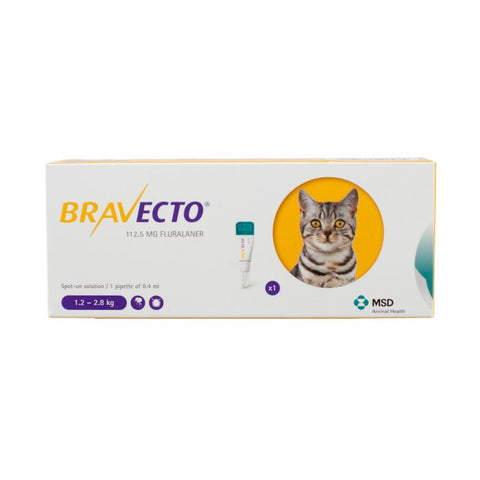 Bravecto Spot On Solution for Cats (Prescription required)
