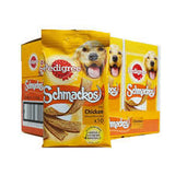PEDIGREE SCHMACKOS (BEEF or CHICKEN) 10 PACK