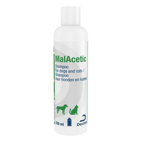 MalAcetic Shampoo for Cats and Dogs - 230ml