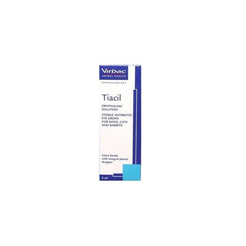 Tiacil Ophthalmic Solution - 5ml (Prescription Required)