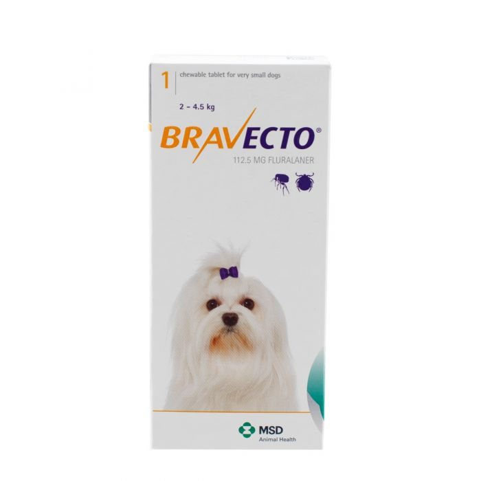 Bravecto Chewable Tablets For Dogs Prescription Required