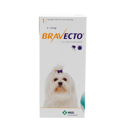Bravecto Chewable Tablets for Dogs (Prescription Required)