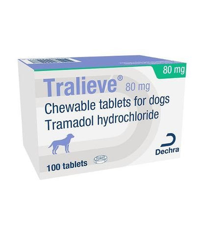 Tralieve Chewable Tablets for Dogs - Per Tablet (Prescription Required)