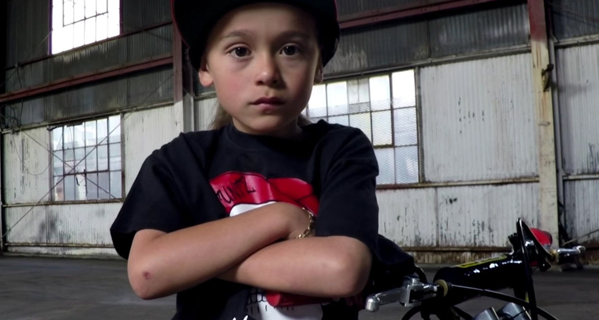 The 6-Year-Old Stunt Rider