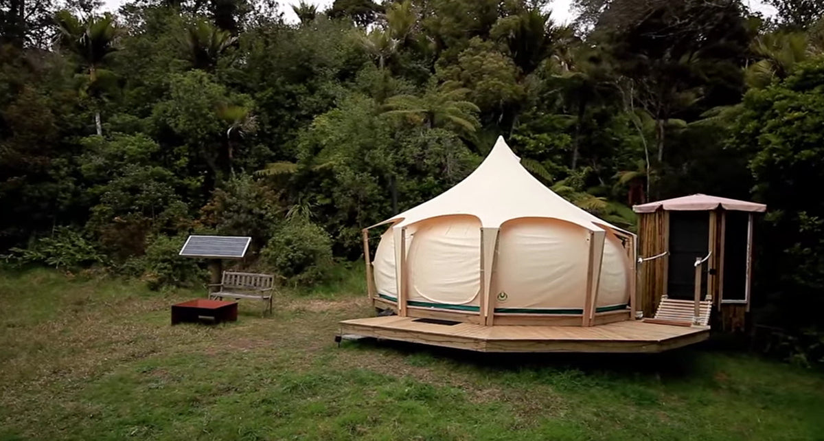 Simple Living In A Lotus Belle Tent