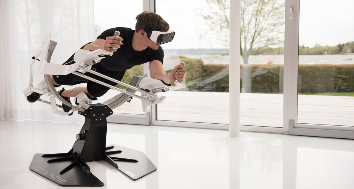VR merges gaming & exercise