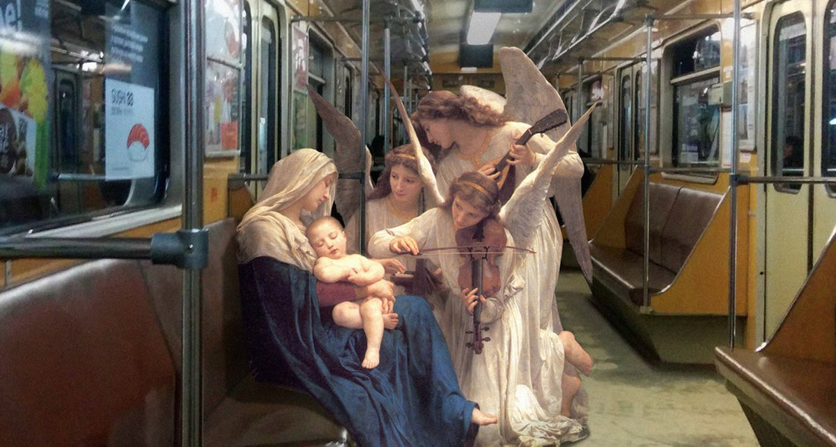Classical Paintings as Part of Contemporary Life