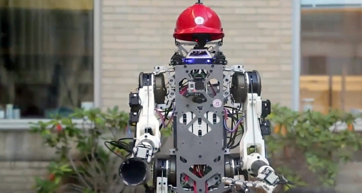 The Life-Saving First Responder Robot