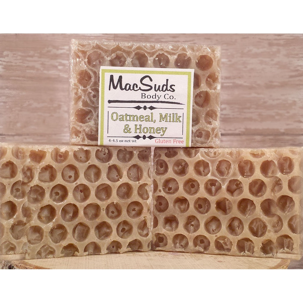 Oatmeal, Milk & Honey natural soap CoolHatcher at TheArtOfLiving.Earth