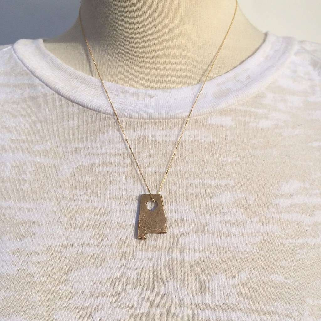Bronze State Necklaces CoolHatcher at TheArtOfLiving.Earth