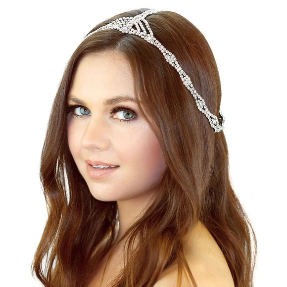 Rhinestone Chain Headpiece CoolHatcher at TheArtOfLiving.Earth